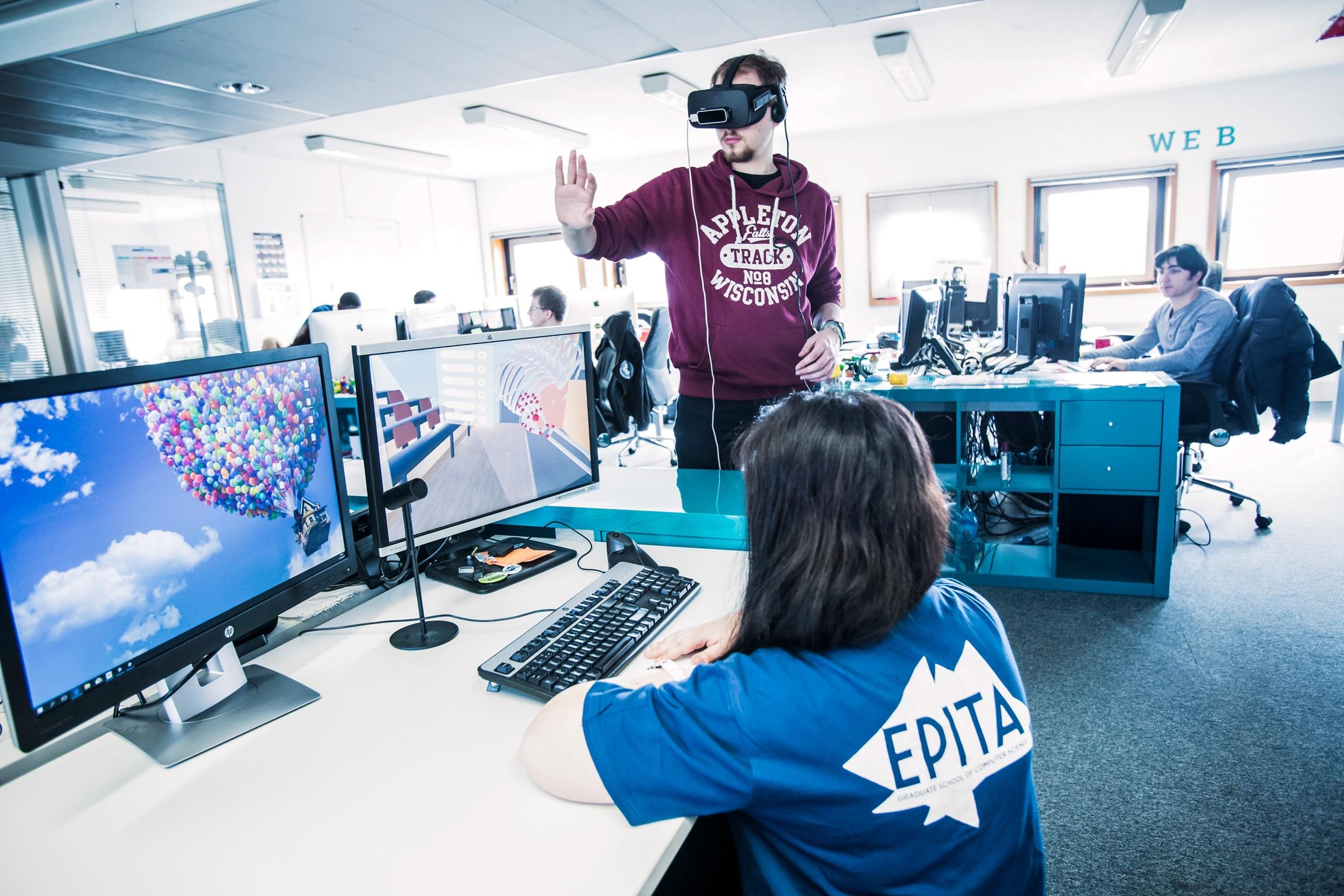 EPITA, Ecole d'ingénieurs en intelligence informatique - Laboratoire 3ie