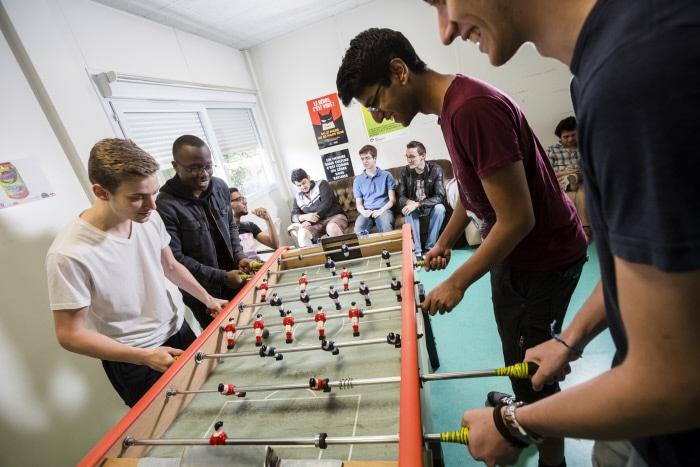 Vie étudiante sur le campus EPITA