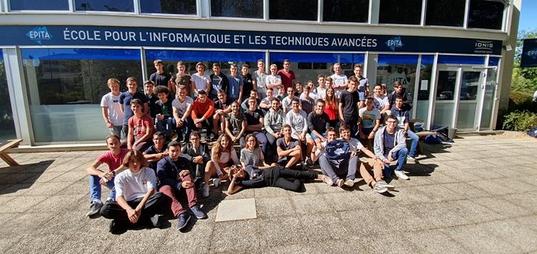 La promotion 2024 du campus de Rennes