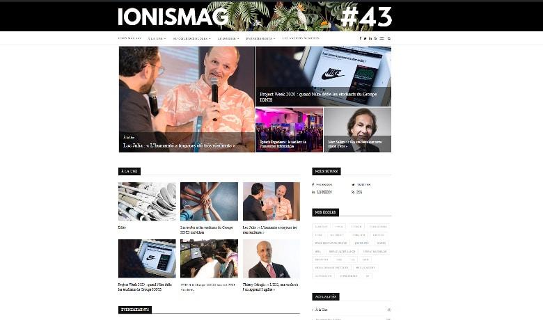Découvrez le IONIS Mag #43 en ligne !