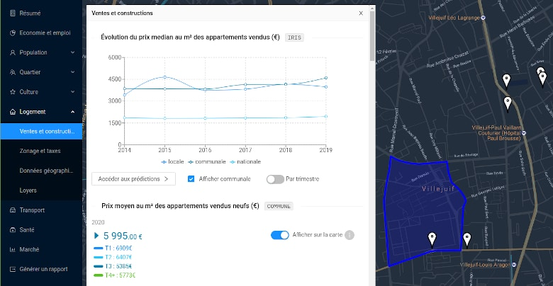Lokimo, une start-up IA & Data Science sur le secteur de l'immobilier, crée par deux étudiants de la Majeure SCIA de l'EPITA au sein du StartUp Lab