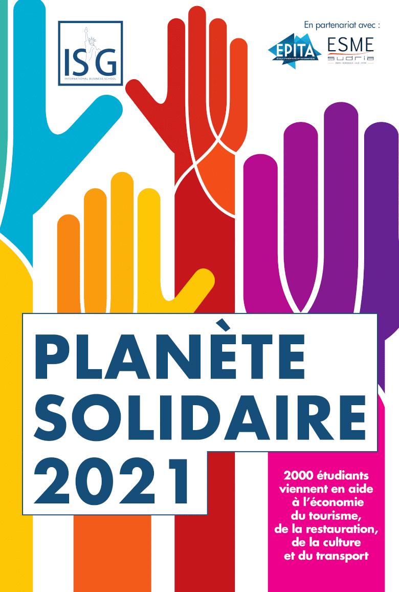 L'EPITA rejoint l'initiative Planète Solidaire pour aider les entreprises!