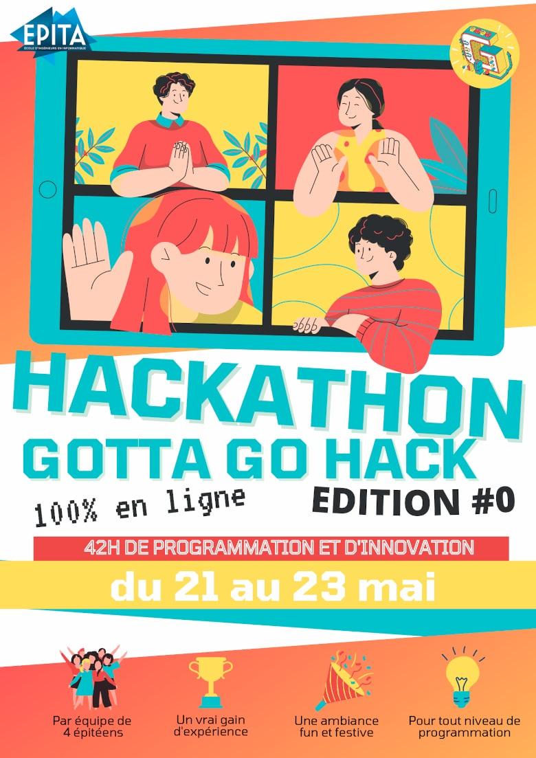 GottaGoHack: des hackathons faits par les étudiants, pour les étudiants!