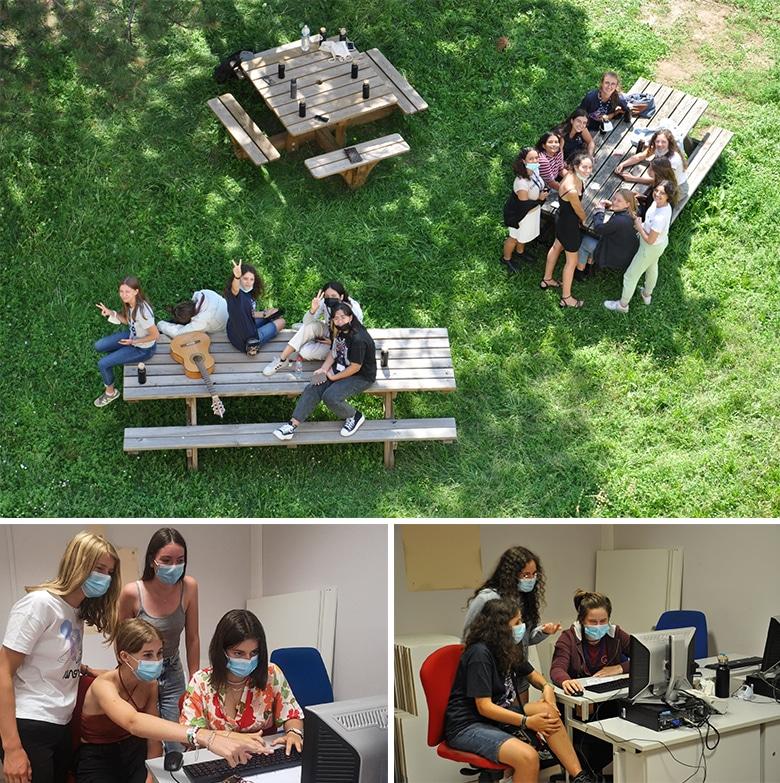 Cet été, plus de 80jeunes fillesont découvert l'informatique avecGirlsCanCode!